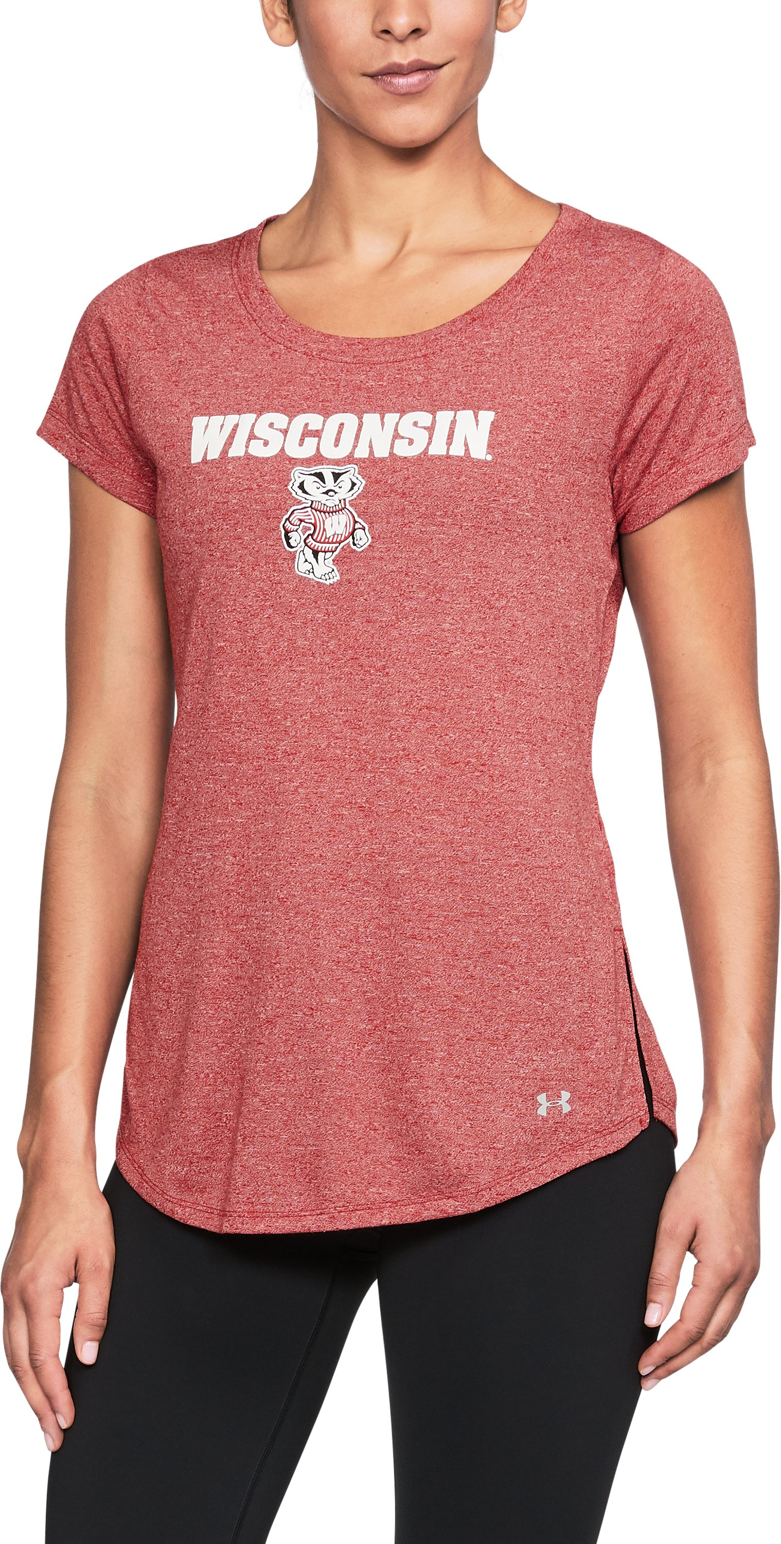 Women's Wisconsin Charged Cotton® Short Sleeve T-Shirt, Flawless,