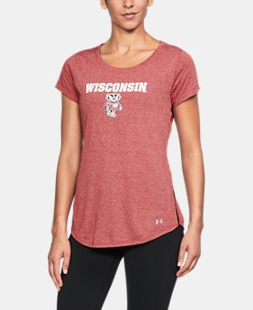 Women's Wisconsin Charged Cotton® Short Sleeve T-Shirt  1  Color Available $39.99