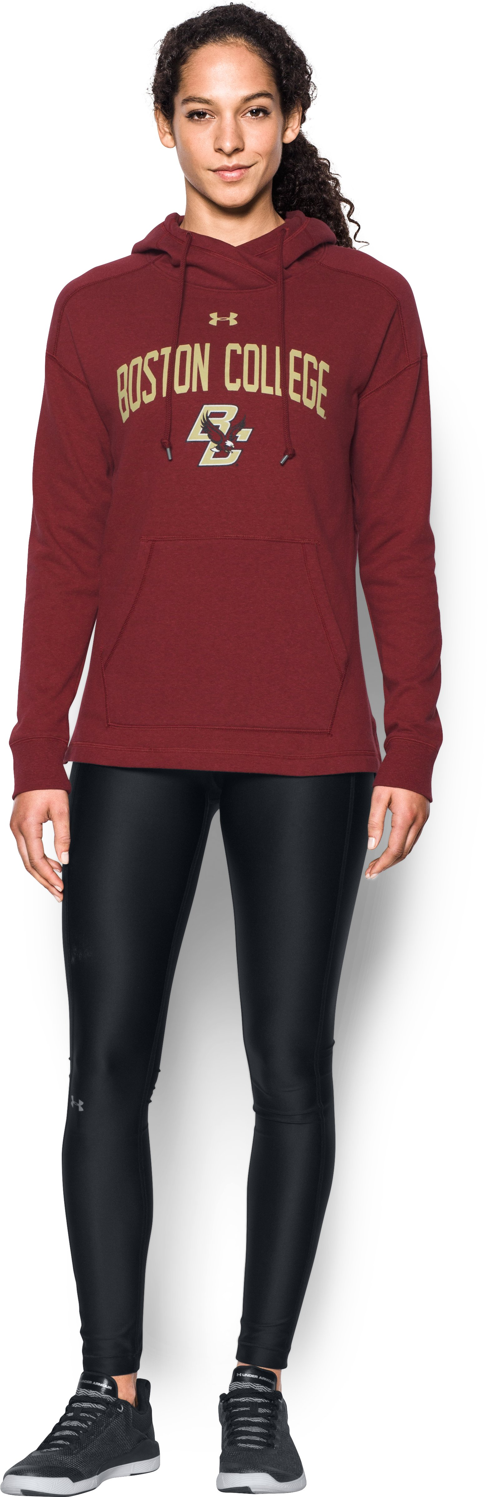 Women's Boston College UA Tri-Blend Hoodie 1 Color $74.99