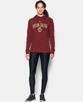 Women's Boston College UA Tri-Blend Hoodie  1  Color Available $74.99