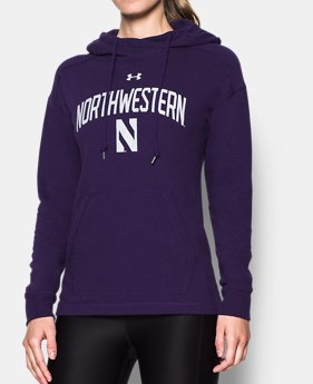 71df00053 Women's Northwestern UA Tri-Blend Hoodie 1 Color Available $74.99