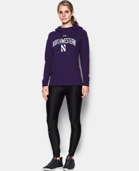 Women's Northwestern UA Tri-Blend Hoodie  1 Color $74.99