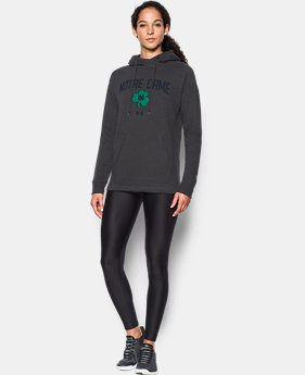 Women's Notre Dame UA Tri-Blend Hoodie  1  Color Available $56.99