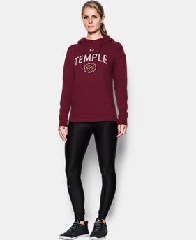Women's Temple UA Tri-Blend Hoodie  1 Color $74.99