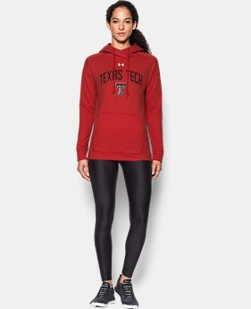 New Arrival Women's Texas Tech UA Tri-Blend Hoodie  1 Color $74.99