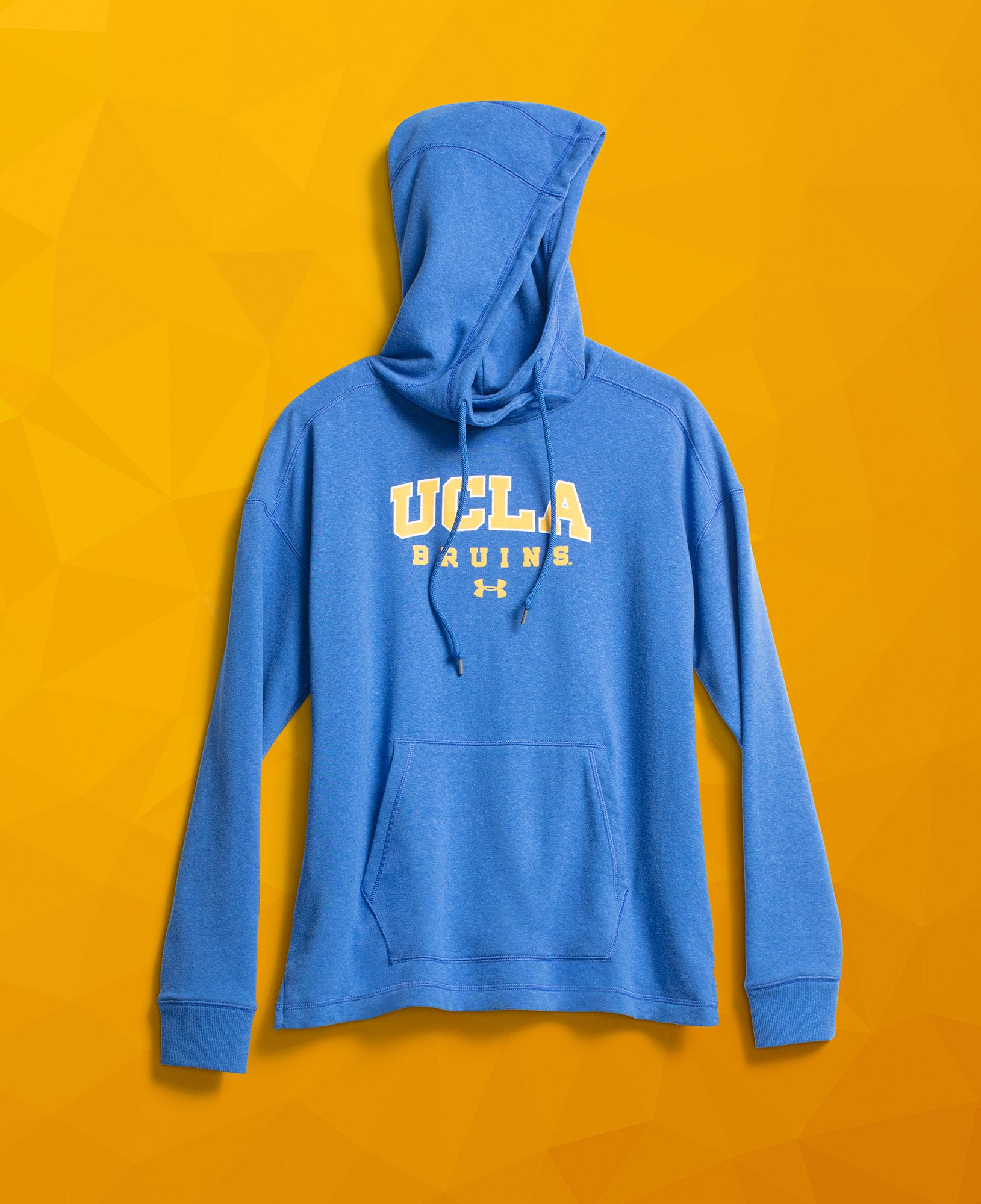 Men's UCLA Armour Fleece® Hoodie, POWDERKEG BLUE,