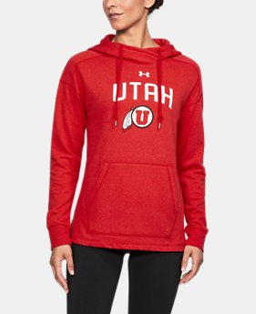 Women's Utah UA Tri-Blend Hoodie  1 Color $74.99