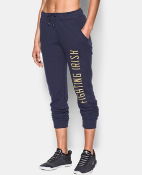 Women's Notre Dame UA Tri-Blend Pants  1  Color Available $48.99
