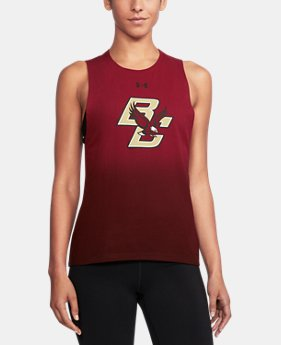 Women's Boston College UA Dip Dye Tank  1 Color $39.99