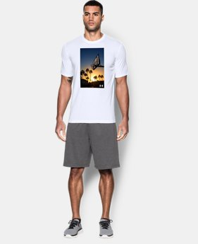 New Arrival Men's UA Sunset Court T-Shirt  1 Color $24.99