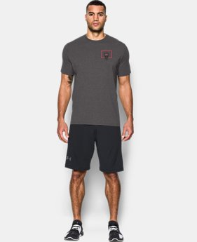 Men's UA Basketball Left Chest T-Shirt  2 Colors $24.99