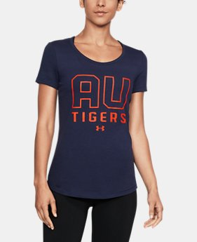 Women's Auburn UA Vent Short Sleeve T-Shirt-Shirt  1 Color $42.99