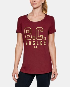Women's Boston College UA Vent Short Sleeve T-Shirt-Shirt  1 Color $42.99
