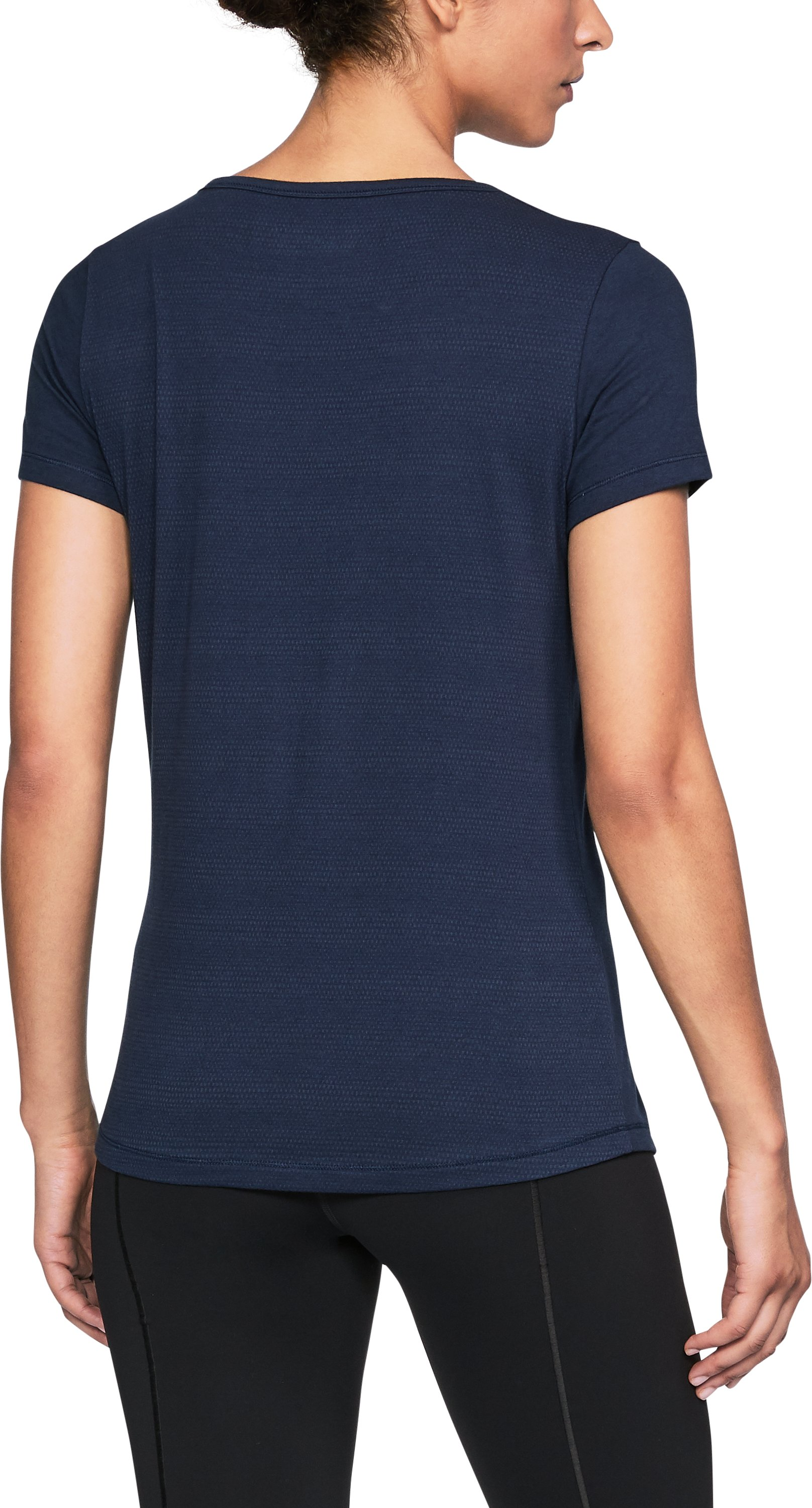 Women's UA California Vent T-Shirt, Midnight Navy,