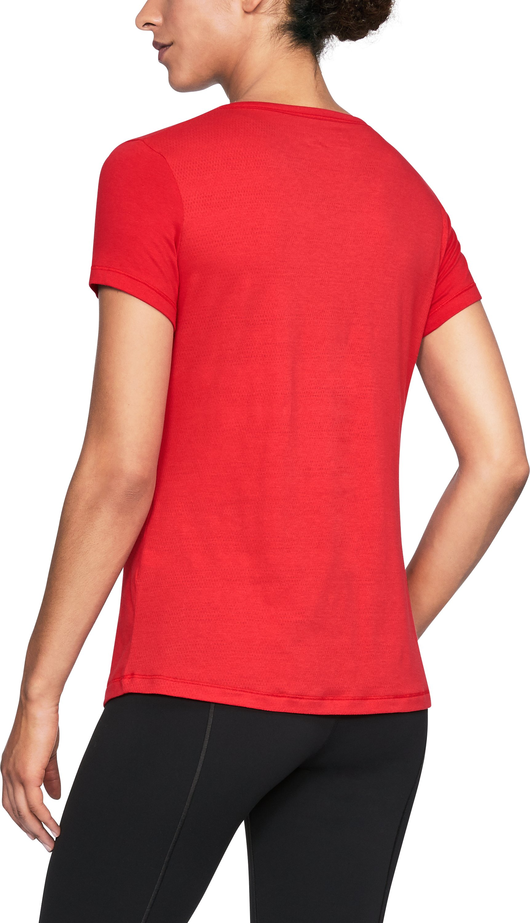 Women's Cincinnati UA Vent Short Sleeve T-Shirt-Shirt, Red, undefined