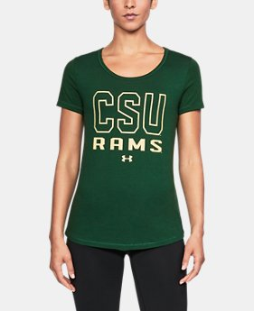 New to Outlet Women's Colorado State UA Vent Short Sleeve T-Shirt-Shirt  1 Color $32.99