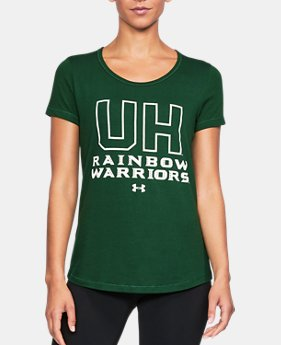 Women's Hawaii UA Vent Short Sleeve T-Shirt-Shirt  1 Color $42.99