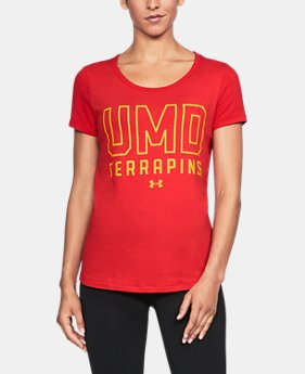Women's Maryland UA Vent Short Sleeve T-Shirt-Shirt  1  Color Available $42.99