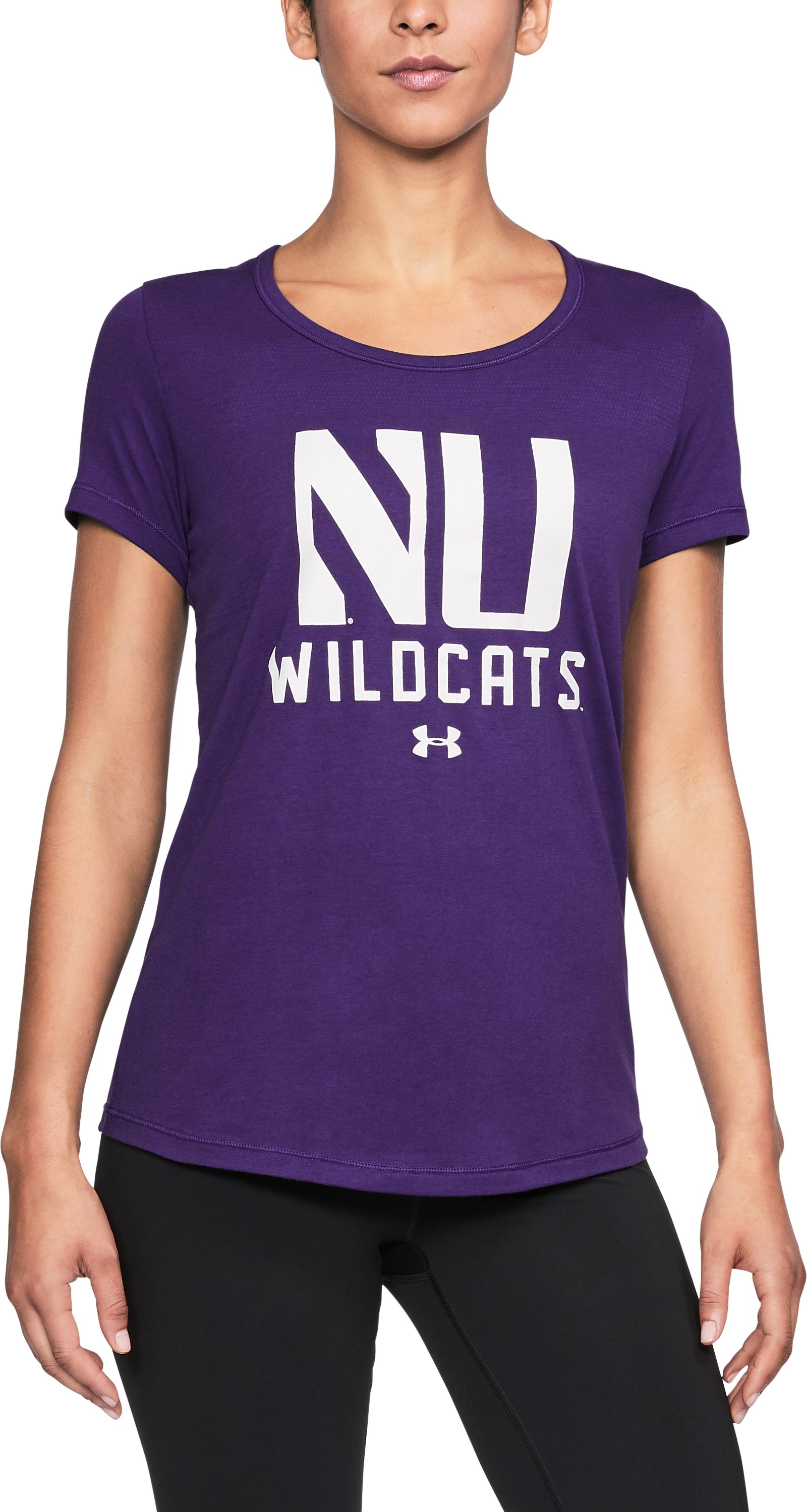Women's Northwestern UA Vent Short Sleeve T-Shirt 1 Color $32.99