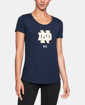 Women's Notre Dame UA Vent Short Sleeve T-Shirt  1  Color Available $32.99