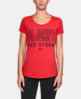 New to Outlet Women's St. John's UA Vent Short Sleeve T-Shirt  1  Color $32.99