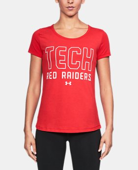Women's Texas Tech UA Vent Short Sleeve T-Shirt  1 Color $42.99