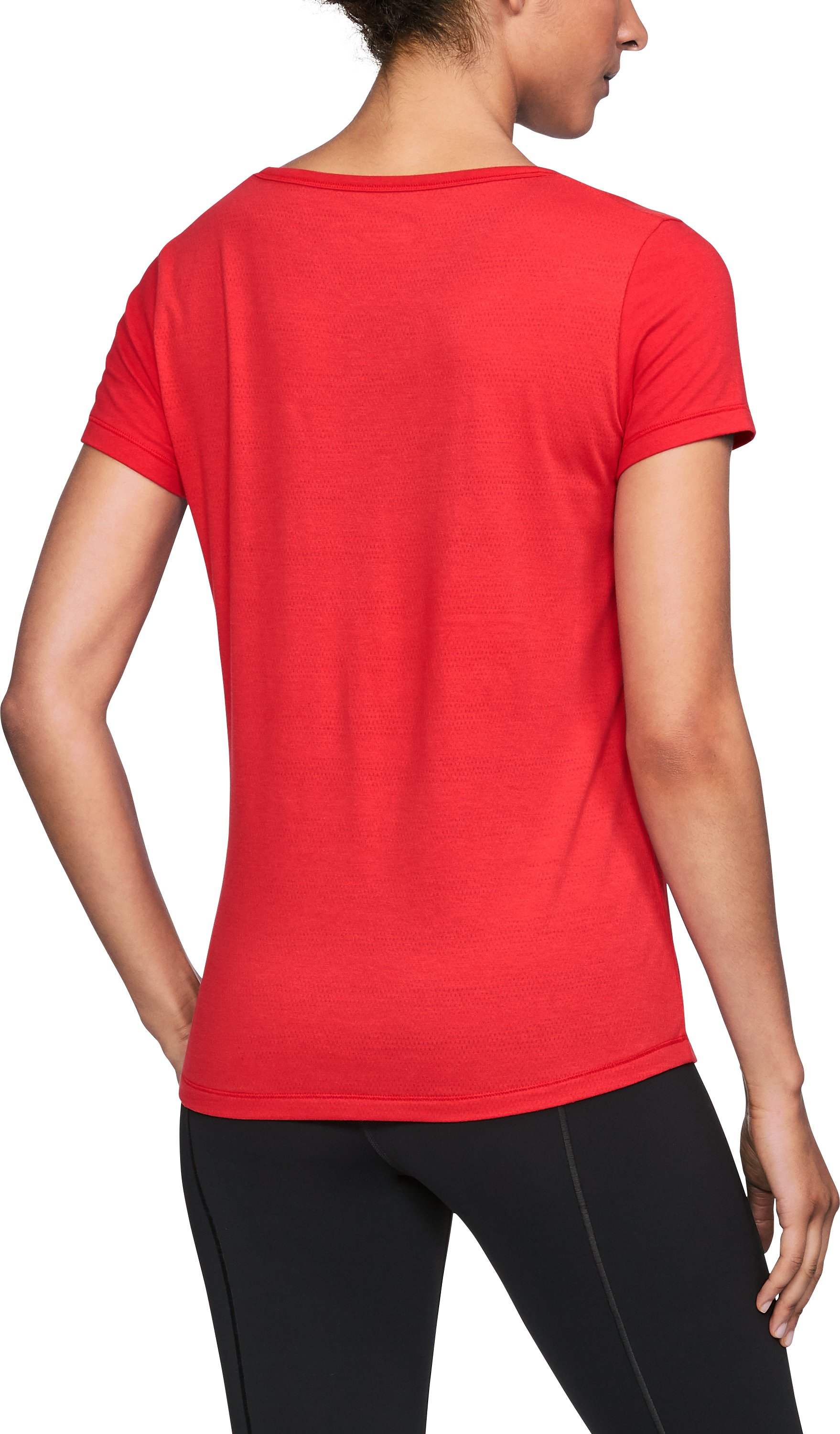 Women's Utah UA Vent Short Sleeve T-Shirt, Red, undefined