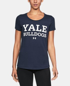 New Arrival Women's Yale UA Vent Short Sleeve T-Shirt  1 Color $42.99