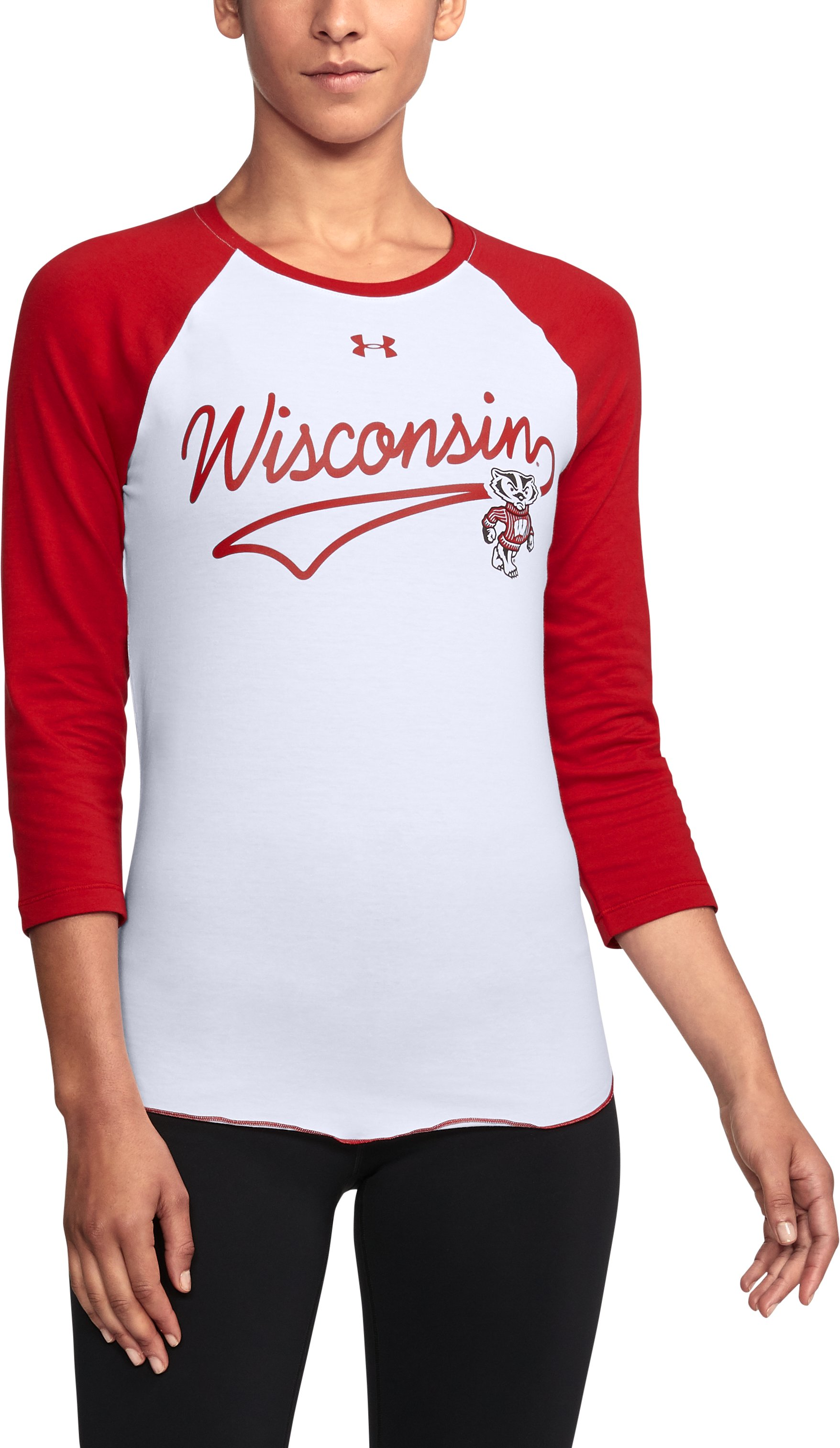 Women's Wisconsin Baseball T-Shirt, Flawless,