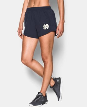 Women's Notre Dame Fly By Shorts  1 Color $42.99
