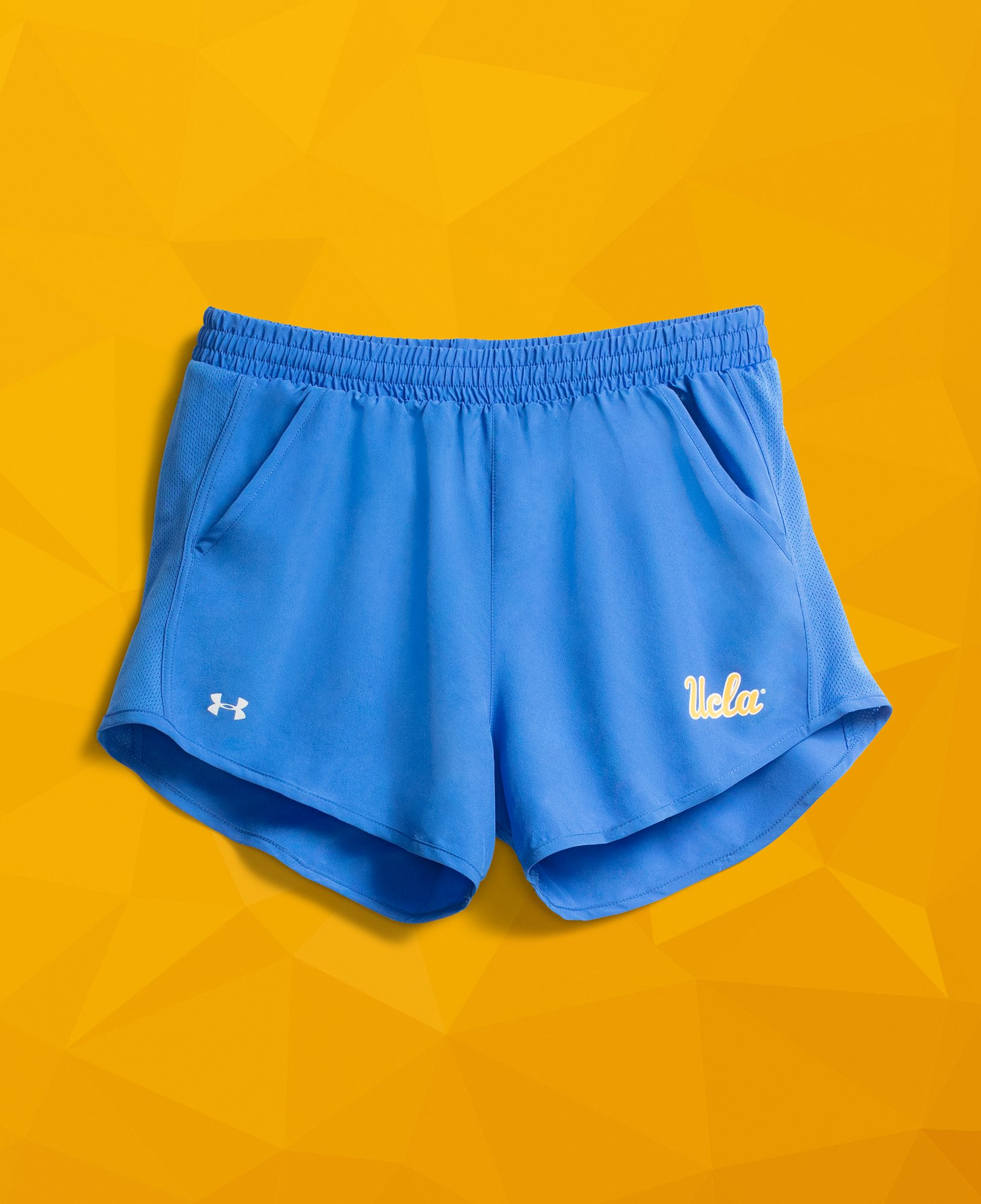 Women's UCLA Fly-By Shorts, POWDERKEG BLUE,