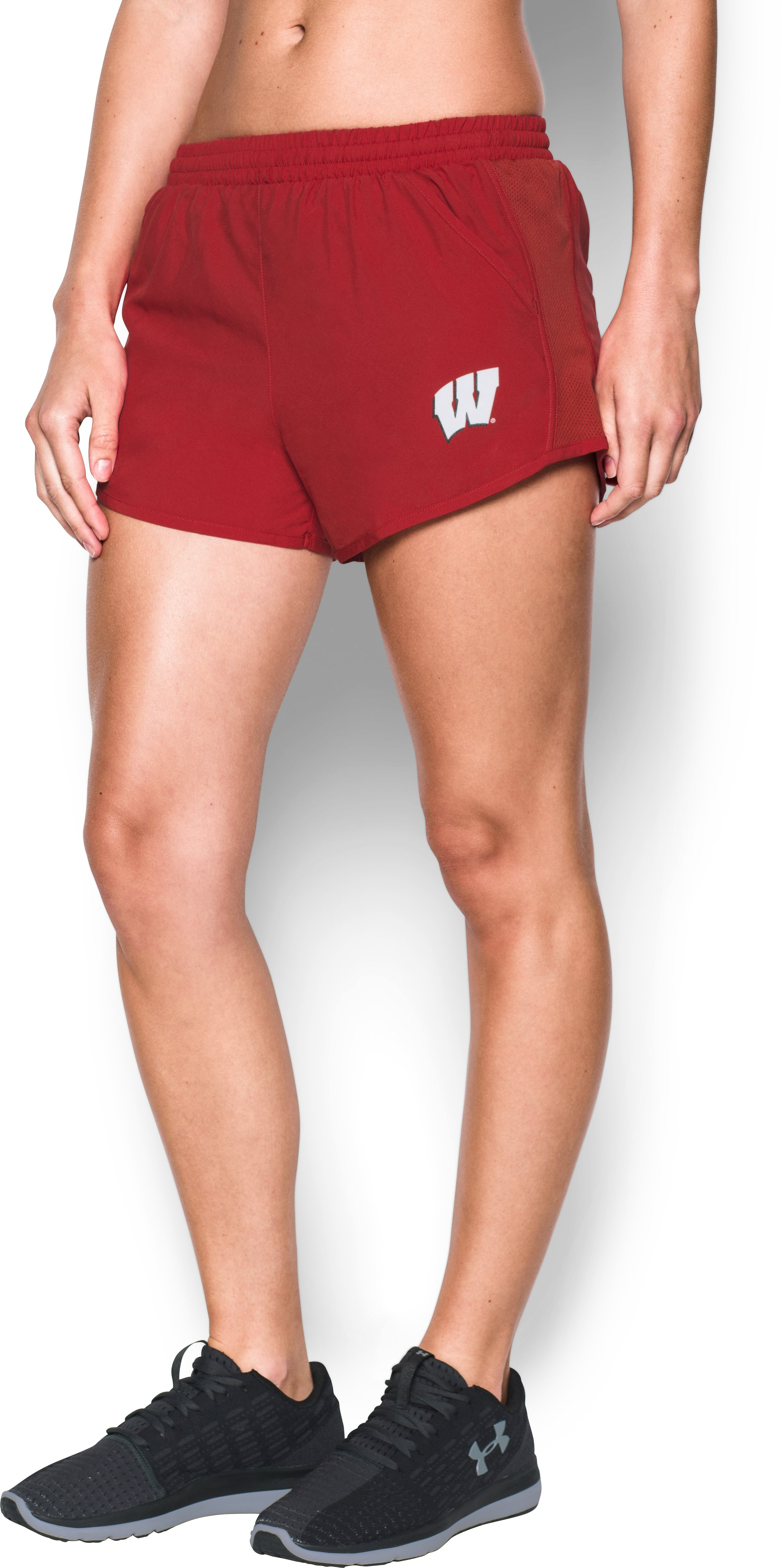 Women's Wisconsin Fly By Shorts, Flawless,