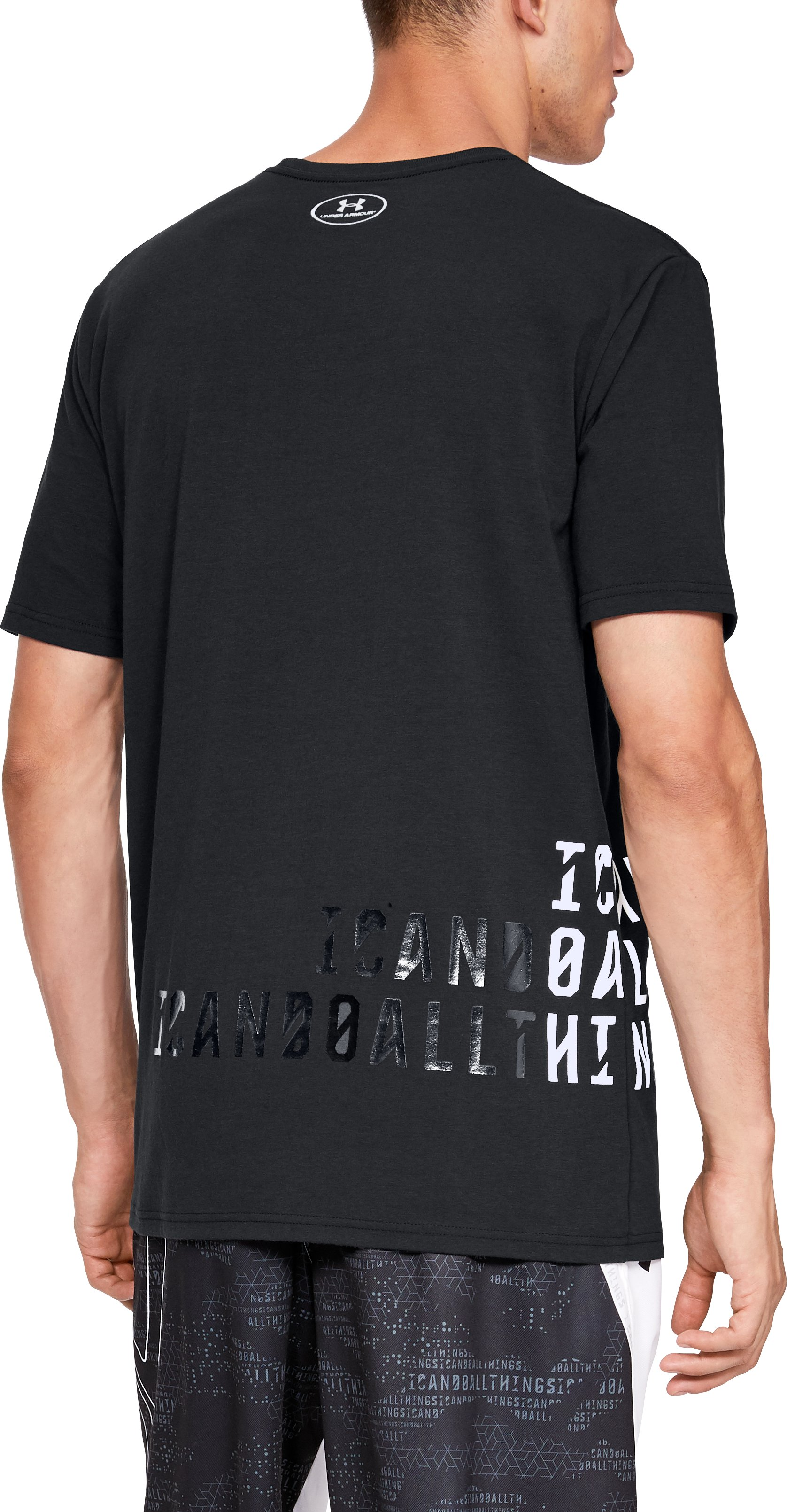 Men's SC30 ICDAT Short Sleeve T-Shirt, Black ,