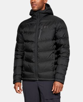 New Arrival Men's UA Outerbound Down Hooded Jacket  1  Color Available $250