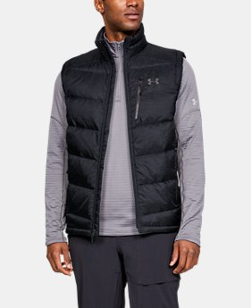 New Arrival Men's UA Outerbound Down Vest  1  Color Available $180