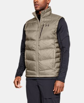 New Arrival Men's UA Outerbound Down Vest  2  Colors Available $180