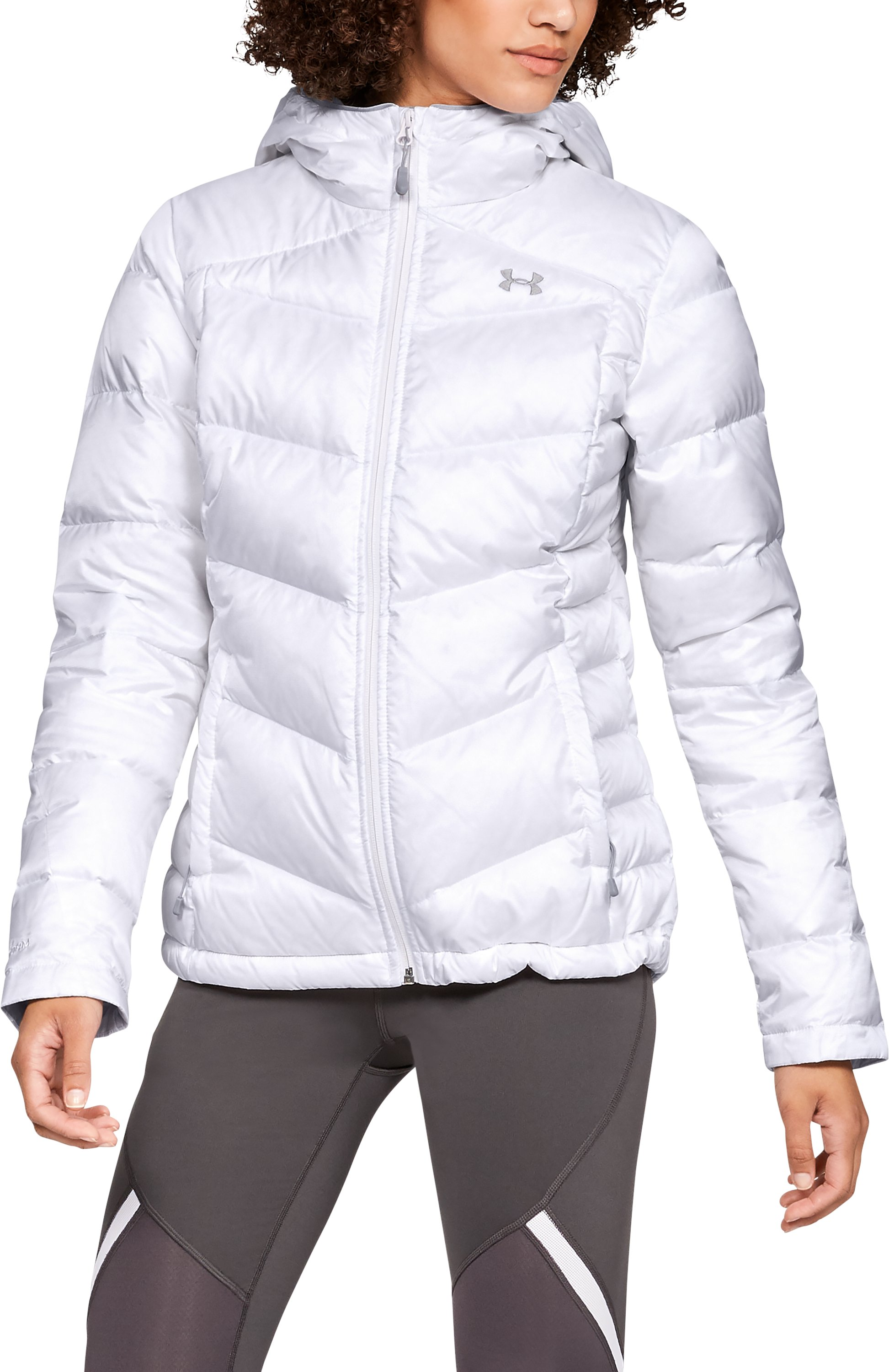 Women's UA Outerbound Down Hooded Jacket 1 Color $250.00