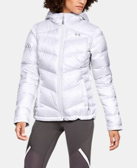 New Arrival Women's UA Outerbound Down Hooded Jacket  1  Color Available $250