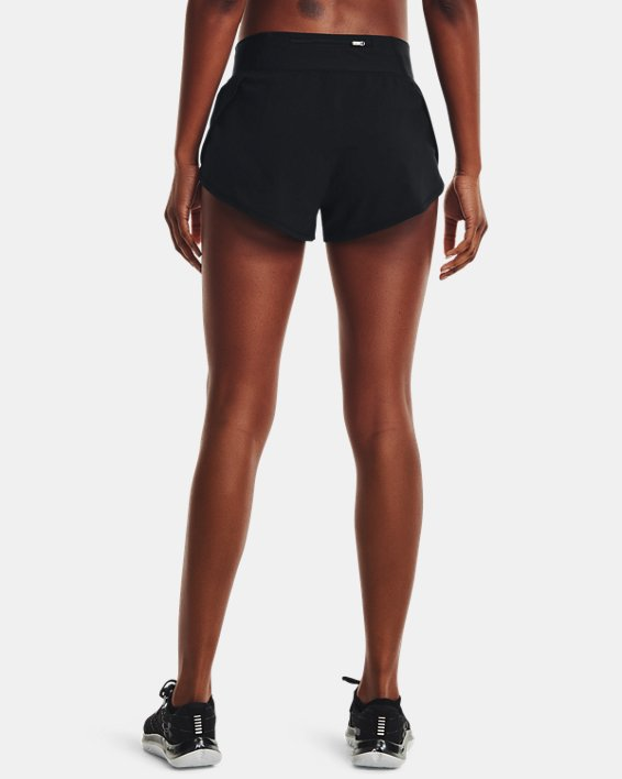 Women's UA Speedpocket Shorts, Black, pdpMainDesktop image number 2