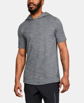 Men's UA Sportstyle Core Short Sleeve Hoodie  4  Colors Available $40