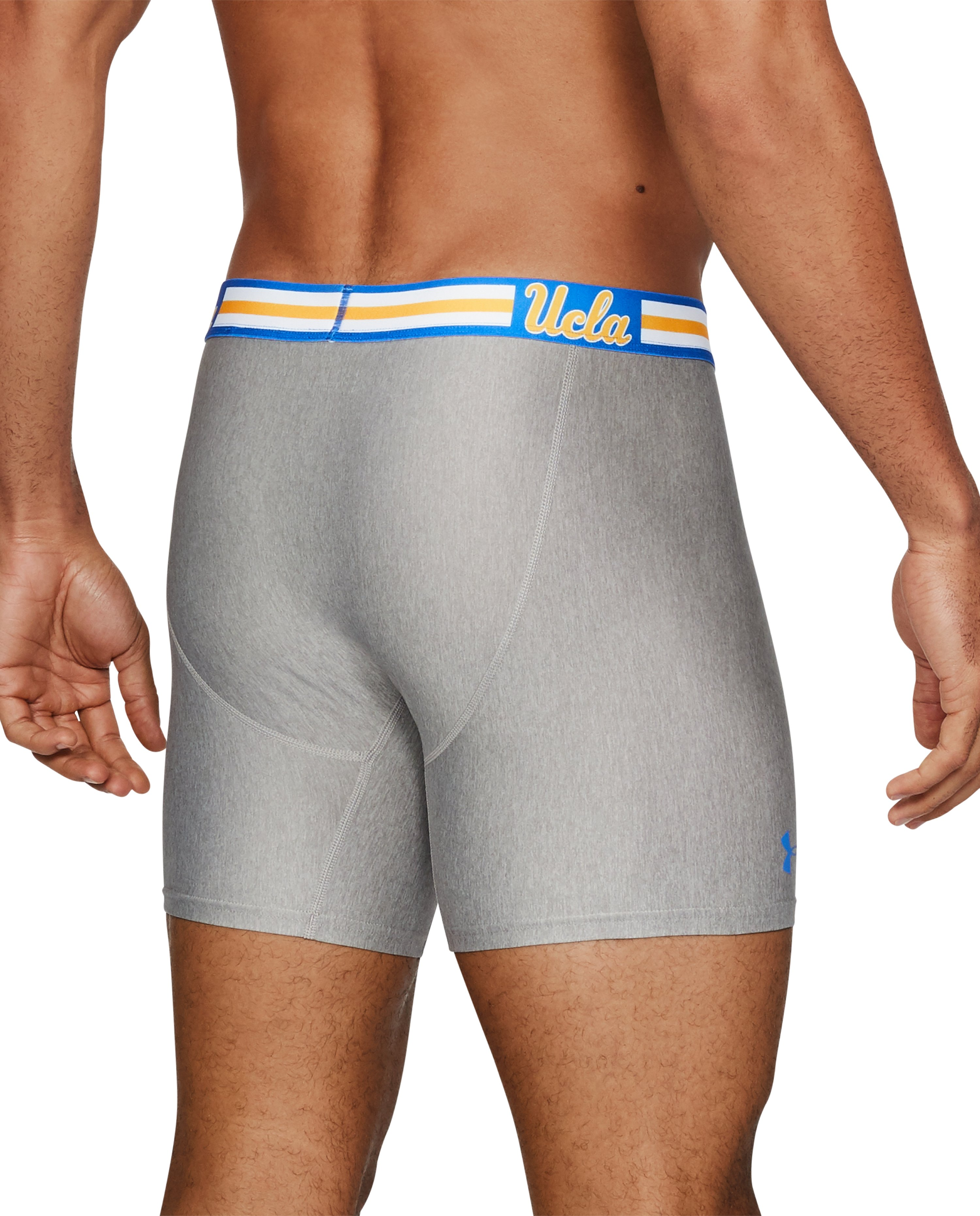 "Men's UCLA UA Original Series 6"" Boxerjock®, True Gray Heather,"