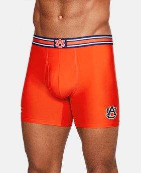 "New Arrival Men's Auburn UA Original Series 6"" Boxerjock®  1 Color $29.99"