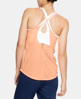 da9e0b1697cc9 Women s UA Whisperlight Strappy Tank 5 Colors Available  22.99