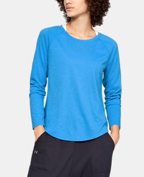 Women's UA Whisperlight Long Sleeve  6  Colors Available $50
