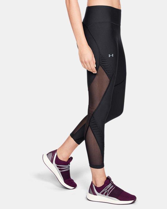 Women's UA Vanish Pleated Leggings, Black, pdpMainDesktop image number 3