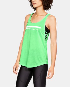 New Arrival Women's UA Whisperlight Side Strappy Tank  3  Colors Available $35