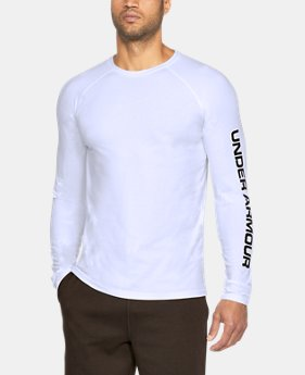 Men's UA Unstoppable Logo Long Sleeve T-Shirt  1  Color Available $26.99