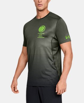 New Arrival  Men's Under Armour® Alter Ego The Hulk Raid Short Sleeve   $45