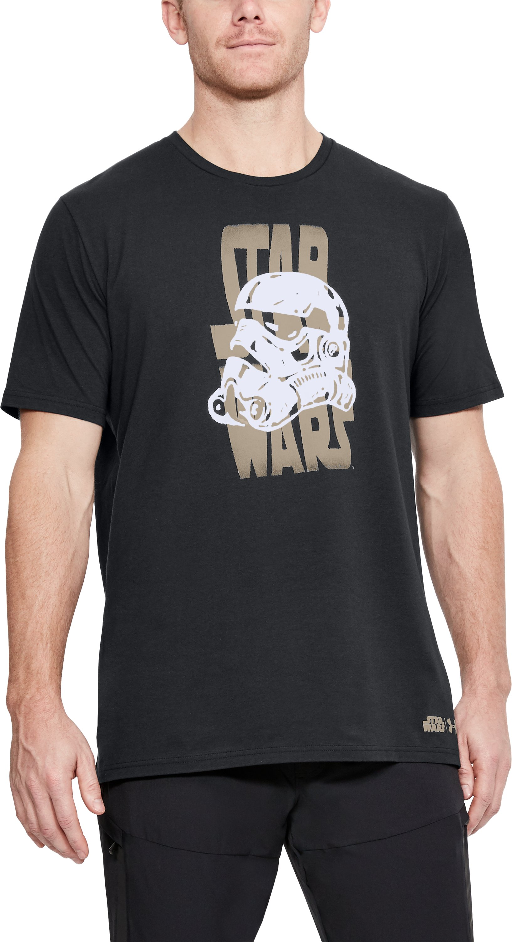 Men's UA Star Wars Warp T-Shirt, Black ,