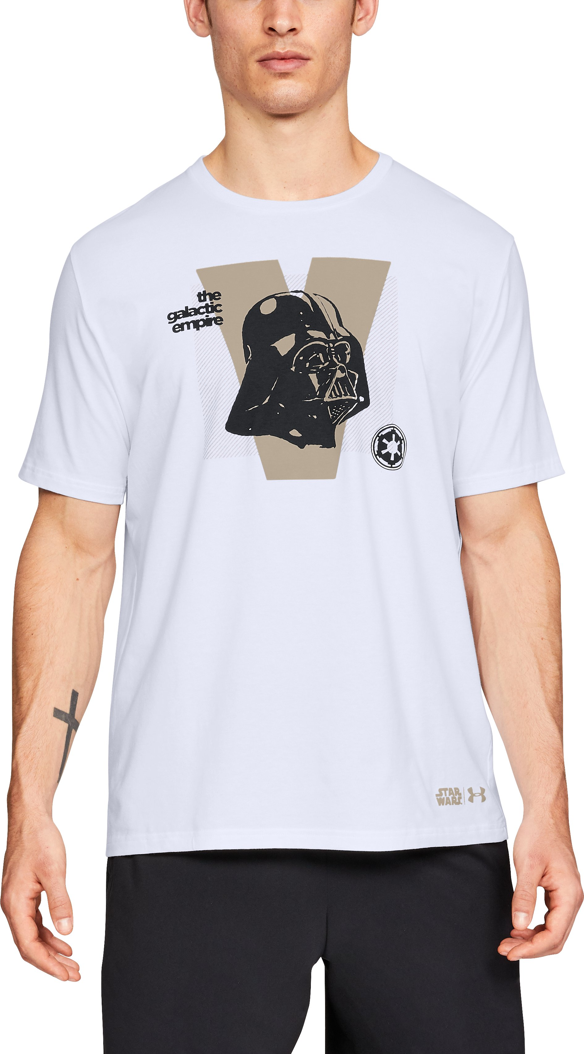 Men's UA Darth Vader T-Shirt, White,